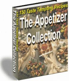 The Appetizer Collection 150 recipes | eBooks | Food and Cooking
