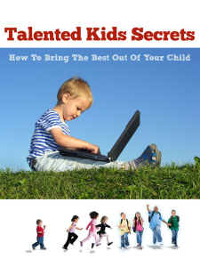 talented kids secrets