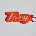 Trey Single & Dual Color 3D Printable Keychain-Badge-Stamp | Other Files | Everything Else
