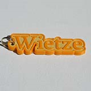 Wietze Single & Dual Color 3D Printable Keychain-Badge-Stamp | Other Files | Everything Else
