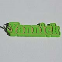 Yannick Single & Dual Color 3D Printable Keychain-Badge-Stamp | Other Files | Everything Else