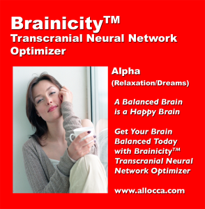 BrainicityTM Transcutaneous Neural Network Optimizer - Alpha | Music | Other