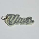 Yves Single & Dual Color 3D Printable Keychain-Badge-Stamp | Other Files | Everything Else