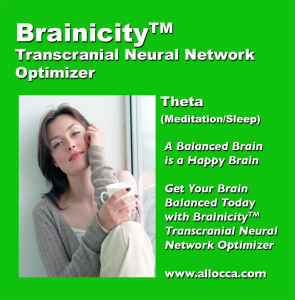 brainicitytm transcutaneous neural network optimizer - theta