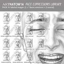 ARTNATOMYA Face Expressions Library (16 images) | Photos and Images | General