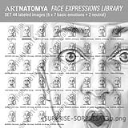 ARTNATOMYA Face Expressions Library (44 images) | Photos and Images | General