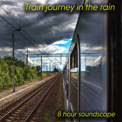 First Additional product image for - Train journey in the rain