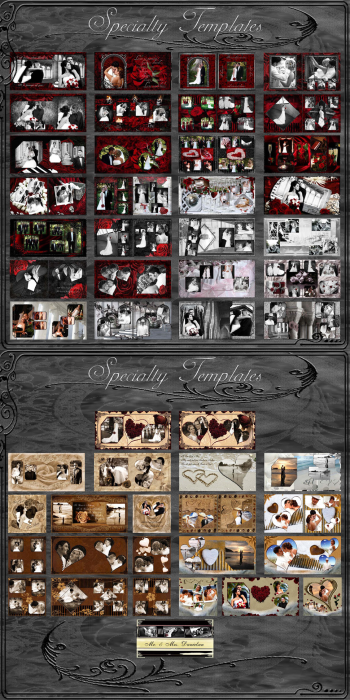 Fourth Additional product image for - (1F) Wedding Album Collection