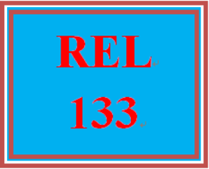 REL 133 Week 1 Common Practices in Religion Assignment Options | eBooks | Education