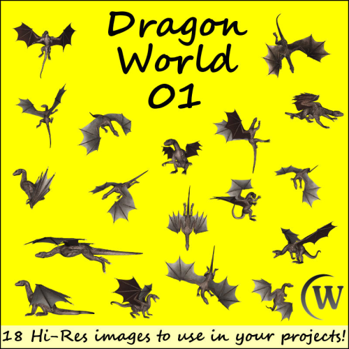 First Additional product image for - DRAGON WORLD 1 - Commercial Use
