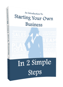 An Introduction To Starting Your Own Business In 2 Simple Steps | eBooks | Business and Money