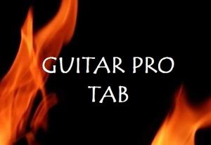 the professional classical guitar tab - sample