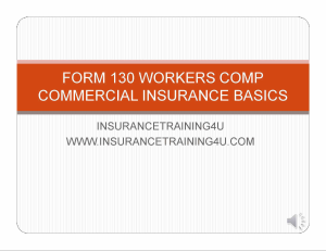 Workers Compensation Basics From 130 | Movies and Videos | Training