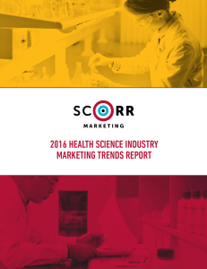 2016 health science industry marketing trends report