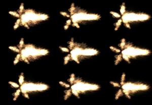 ar-15 muzzle flash (15pk)