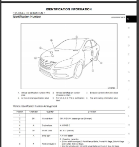 nissan sentra b17 2015 service & repair manual & wiring diagram