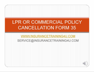 commercial lpr/cancellation form 35