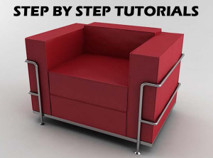design a sofa in 3d studio max