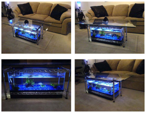 How to Make Aquarium Coffee Table | eBooks | Arts and Crafts
