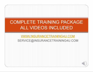 complete agent training package