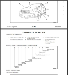 infiniti qx50 j50 2016 service repair manual & wiring diagram