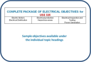 Competence objectives - Topic: Complete electrical package | Other Files | Everything Else