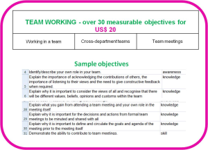 Competence objectives - Topic: Teamwork | Other Files | Everything Else