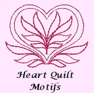 Heart Quilt Motifs PES | Crafting | Embroidery