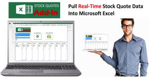excel stock quote addin
