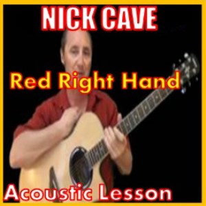 Learn to play Red Right Hand by Nick Cave | Movies and Videos | Educational