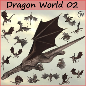 DRAGON WORLD 2 - Commercial Use | Photos and Images | Digital Art