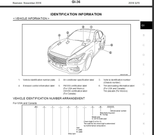 infiniti q70 y51 2016 service repair manual & wiring diagram