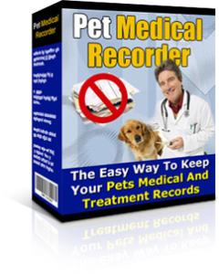 pet medical recorder