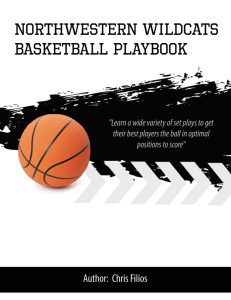 Chris Collins Northwestern Wildcats Playbook | eBooks | Sports