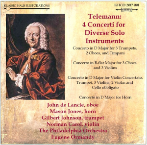 first chair soloists of the philadelphia orchestra play telemann