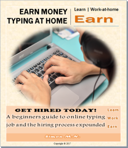 earn money typing at home