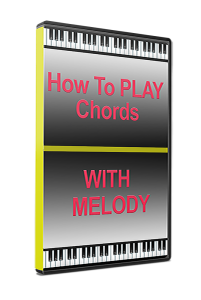 how to play chords with melody