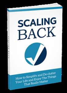 Scaling Back eBook | eBooks | Self Help