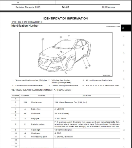 2016  Nissan Maxima A36 Service Repair Manual & Wiring diagram | eBooks | Technical