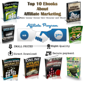 top 10  ebooks about affiliate marketing