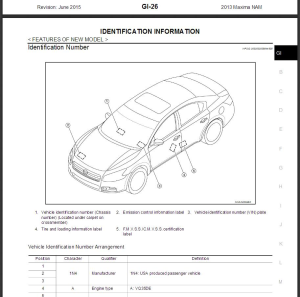 2013  Nissan Maxima A35 Service Repair Manual & Wiring diagram | eBooks | Technical