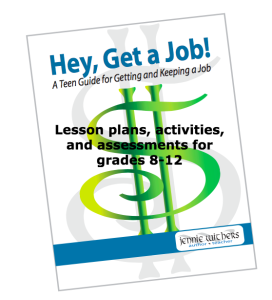 "teaching materials for ""hey, get a job"""