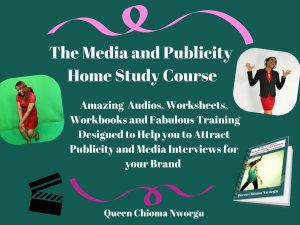 the media and publicity home study course