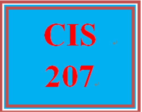 First Additional product image for - CIS 207 Week 2 Individual: Skills Management