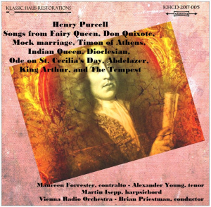 henry purcell: songs