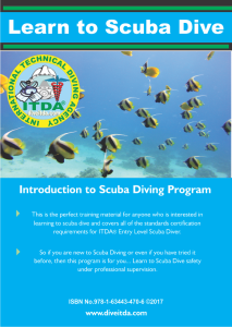 intro to scuba diving