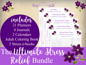 The Ultimate Stress Relief Organizer Kit | Other Files | Documents and Forms