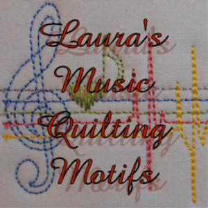 laura's music quilt motifs pes