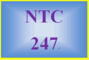 NTC 247 Week 1 Individual: Week One Quiz | eBooks | Education