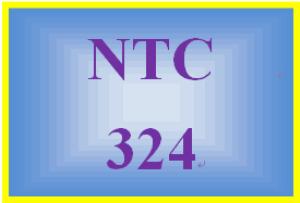 NTC 324 Week 4 Individual: Lab Challenge | eBooks | Education